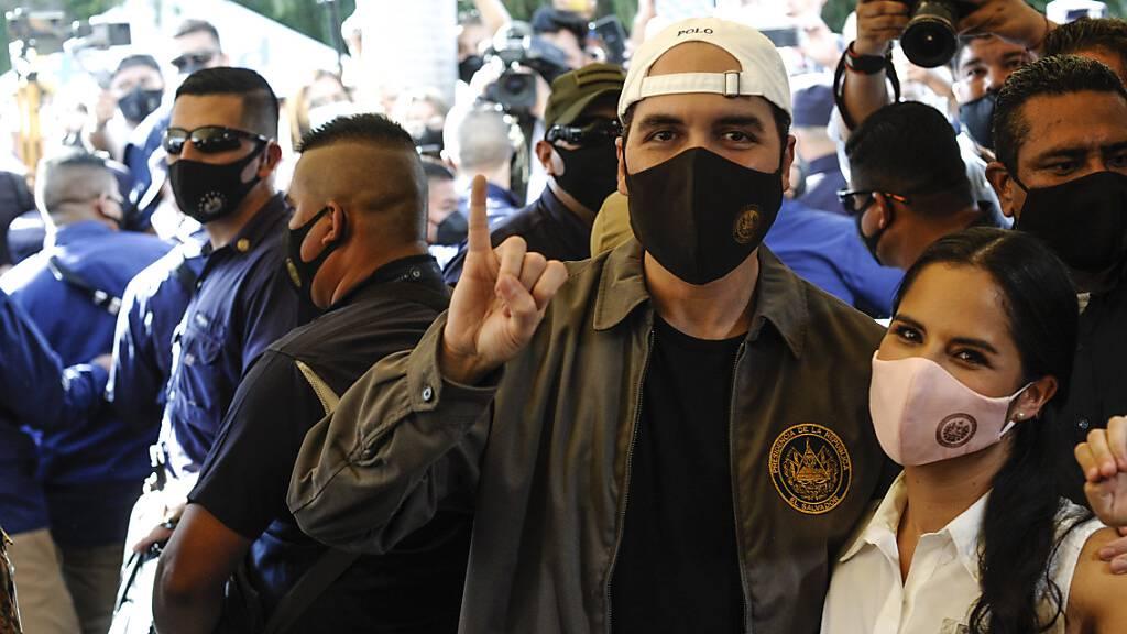 Partei von El Salvadors Staatschef wird stärkste Kraft