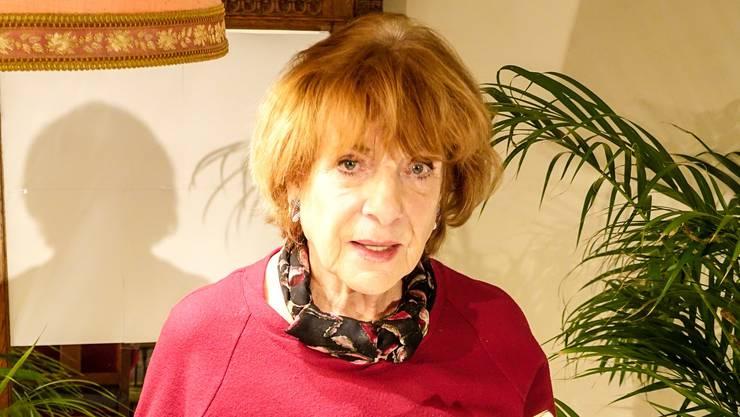 Zog die Besucher in ihren Bann: Hannelore Hoger.
