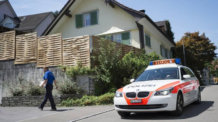In diesem Haus in Staad SG wurde die Leiche des Mädchens im August 2015 gefunden. (Archiv)