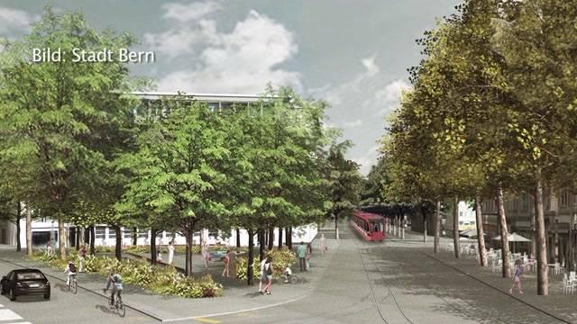 Stadt Bern im Bauwahn