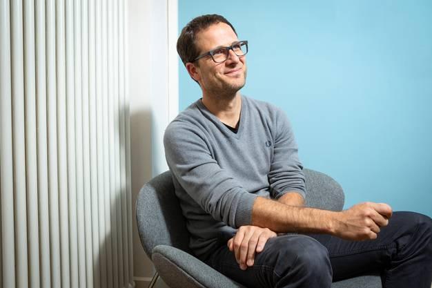 Fabian Furter, Co-Leiter und Autor des Projektes zur Aargauer Geschichte.