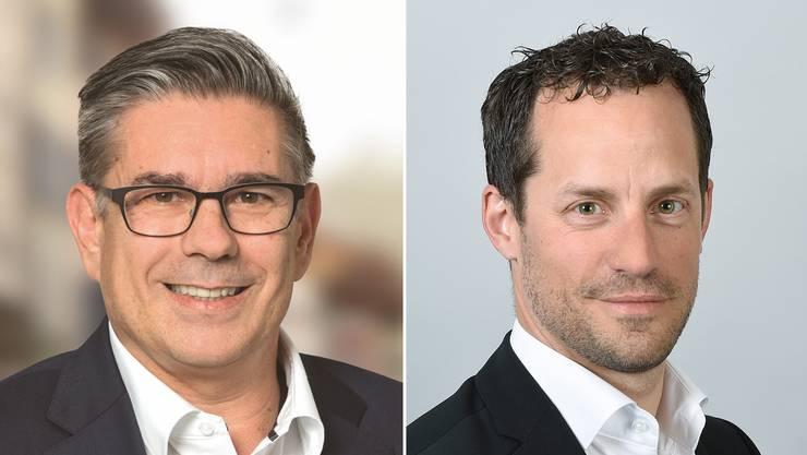 Markus Schneider und David Müller.