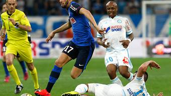 Olympique Marseille und Monaco boten eine spektakuläre Schlussphase