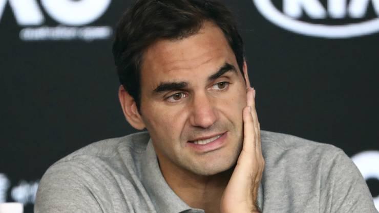 Macht sich im Zuge der Coronavirus-Pandemie Gedanken über die Zukunft des Tennissports: Roger Federer