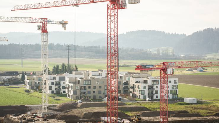 Seit 2011 sind vor allem Mehrfamilienhäuser neu gebaut worden.