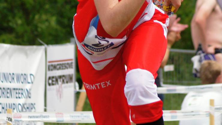 Andrea Roggo an der OL-WM. ZVG