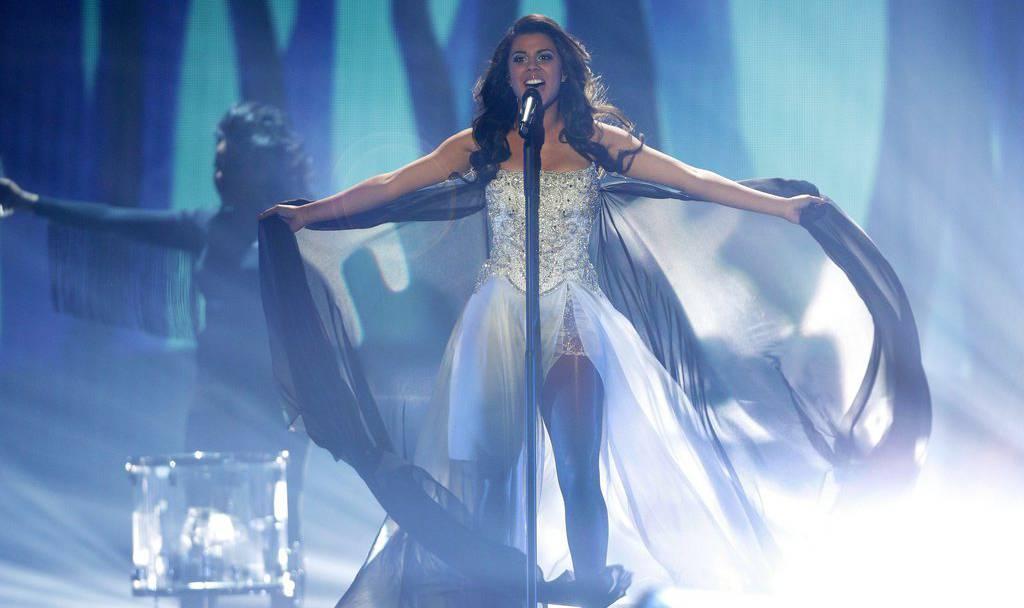 Mélanie René singt «Time To Shine» im Halbfinal des Eurovision 2015