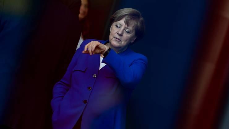 Angela Merkel:  Die Kanzlerin hält sich fast komplett aus dem Wahlkampf ihrer Partei raus.