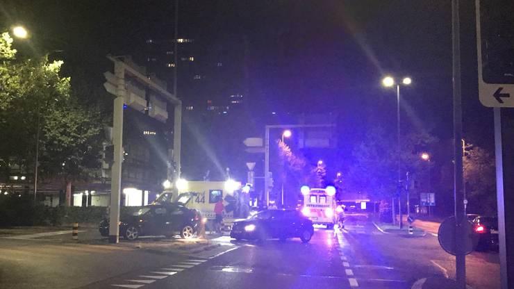 Drei Personen wurden ins Spital gebracht.