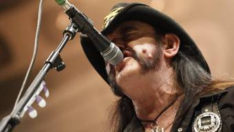 Lemmy Kilmister im August 2011 am Rock-Festival in Avenches