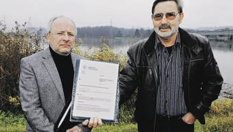 Bernhard Kaufmann und Hans Brauchli sorgen sich um die Tiere