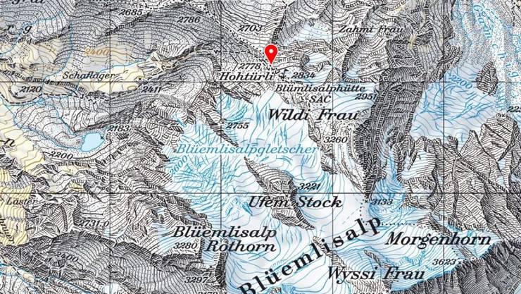 Im Gebiet des Hohtürli oberhalb von Kandersteg im Berner Oberland ist ein Schneeschuhwanderer in einer Lawine tödlich verletzt worden.