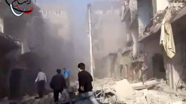 Die Kämpfe in Syrien gehen unvermindert weiter