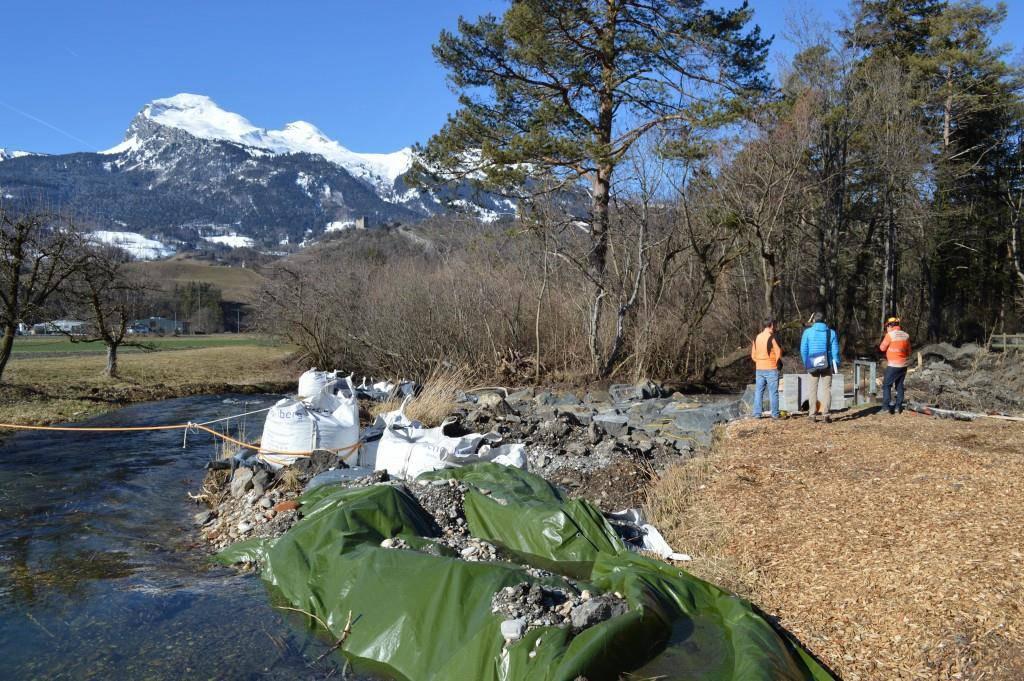 Ab dem 15. März soll wieder Wasser durch die Gewässerläufe fliessen.
