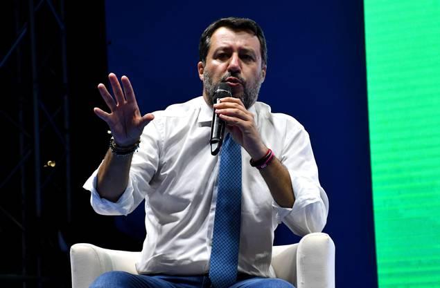 Seine Beliebtheit sinkt: Matteo Salvini. (Bild: Keystone)