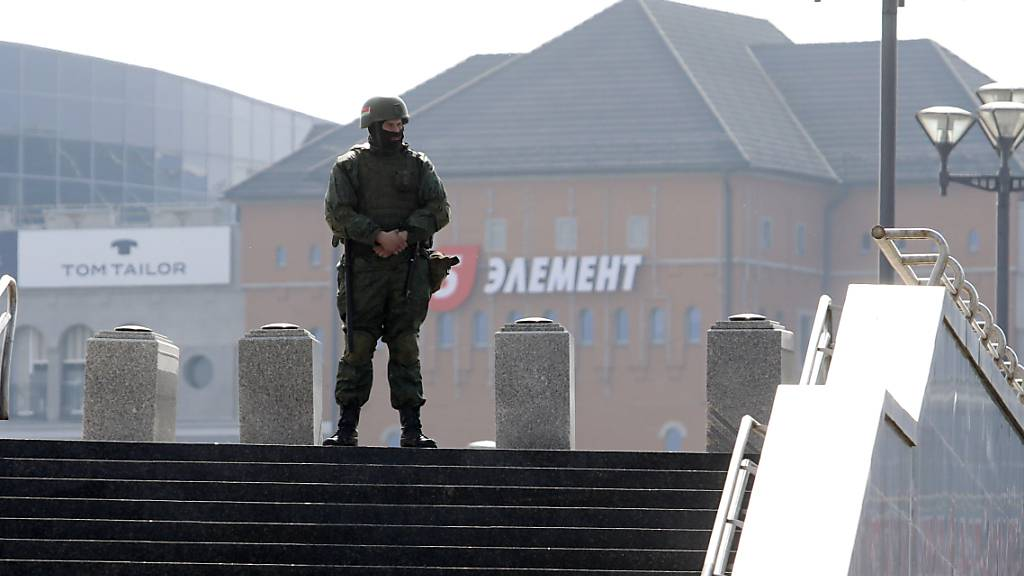 Viele Festnahmen bei Protestaktionen in Belarus gegen Lukaschenko