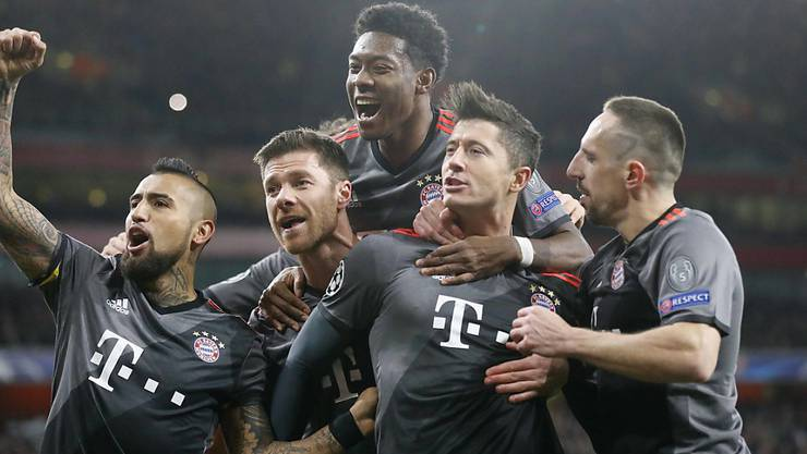Bayern München konnte wieder fünfmal jubeln