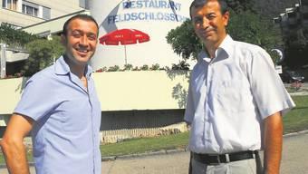 Seit 10 Jahren wird das Restaurant Feldschlösschen in Grenchen von den Gebrüdern Yigit geführt
