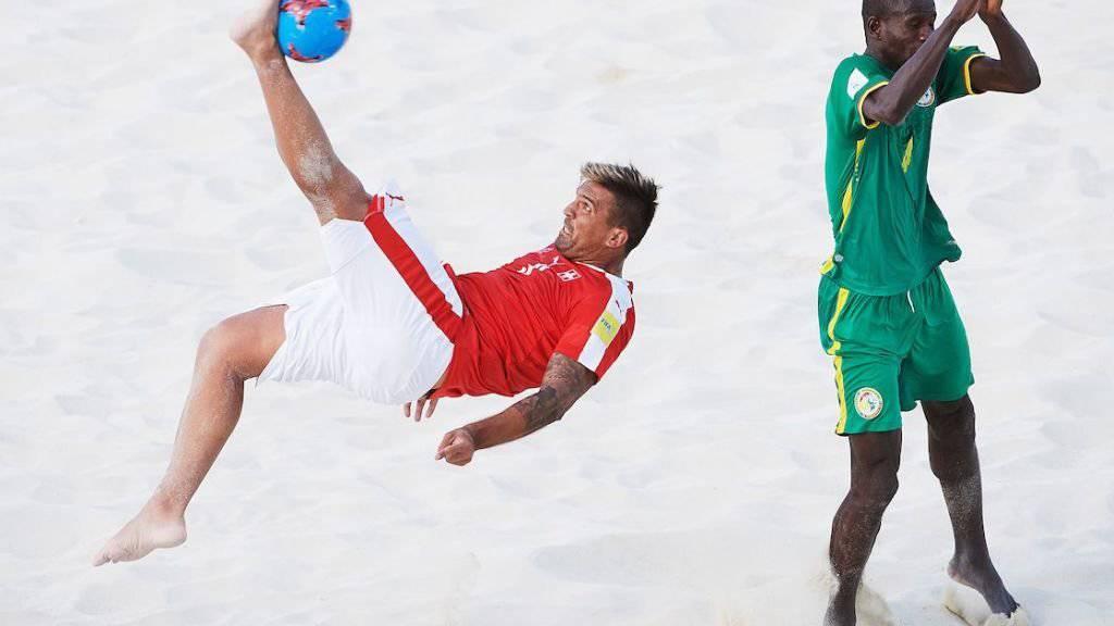 Dejan Stankovic erzielte drei Tore für die Schweiz gegen Senegal