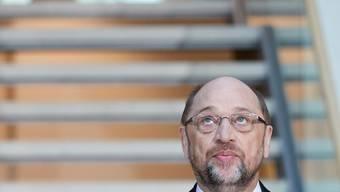 Wann kommt die Erlösung? - SPD-Chef Martin Schulz im Willy-Brandt-Haus, der Parteizentrale in Berlin.