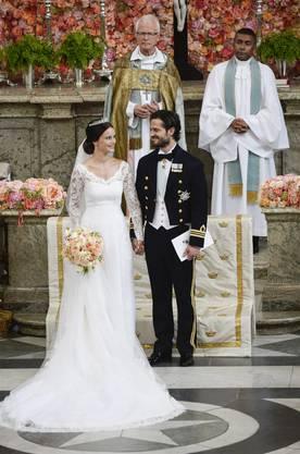"""Mit der Trauung ist das frühere Model nun """"Prinzessin Sofia, Herzogin von Värmland""""."""