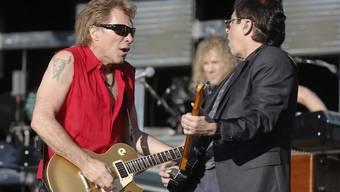 Bon Jovi 2013 im Stade de Suisse in Bern. Nächstens ist es wieder einmal soweit, verspricht die Band: 2900 Konzerte in über 50 Ländern sind geplant (Archiv)