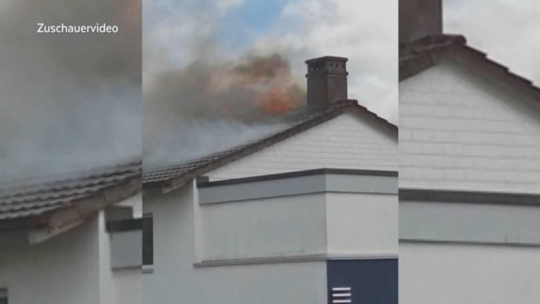 Wohnungsbrand in Rupperswil