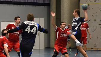 Francesco Biffiger (mit Ball) wird auch gegen die Oltner versuchen, den Ball im Tor unterzubringen.