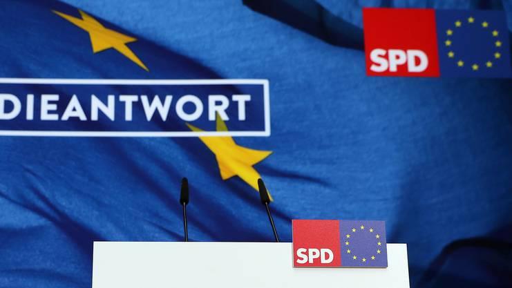 Die SPD erreichte an der Europawahl einen historischen Tiefstand.