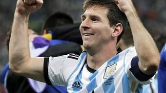 Messi jubelt in einem Adidas-Shirt – und mit ihm der gigantische Sportartikelhersteller