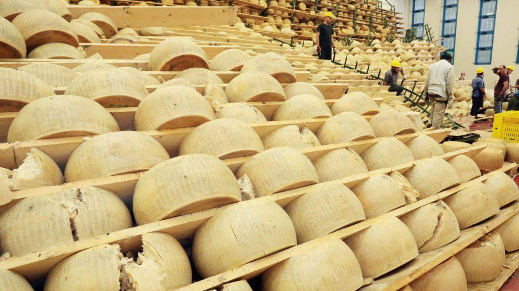Parmesan-Hersteller warnen vor Trumps Strafzöllen