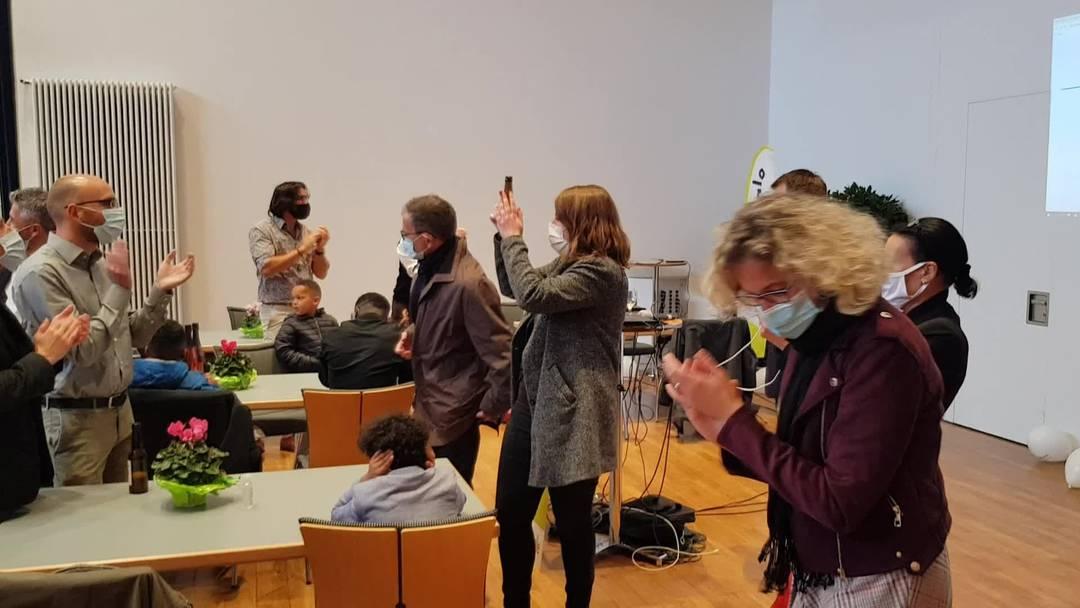 Die GLP Aargau feiert ihren Erfolg bei den Grossratswahlen 2020