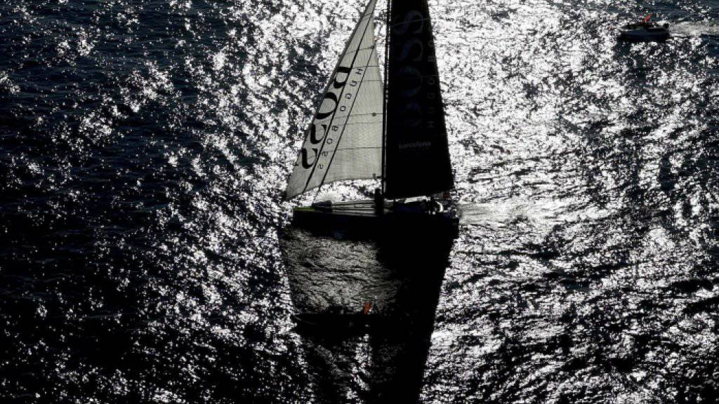 Alex Thomson segelt auf Rekordkurs