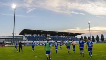 Das letzte Heimspiel der Saison: Wird im Stadion Niedermatten auch künftig Profifussball gespielt?