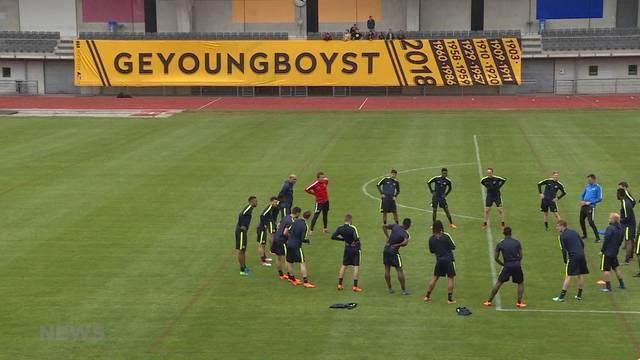 YB wieder im Training