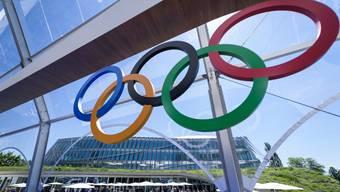 Das Hauptquartier des IOC in Lausanne: Hier wird heute entschieden, wo die Winterspiele 2026 stattfinden.
