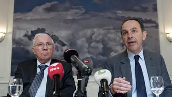 Blocher verkauft BaZ an Tamedia Pressekonferenz
