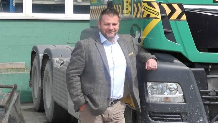 Markus Birchmeier ist mit seiner Bau-Unternehmensgruppe verstärkt im Fricktal präsent. In Wallbach hat er in den letzten drei Jahren, zwei Firmen übernommen.
