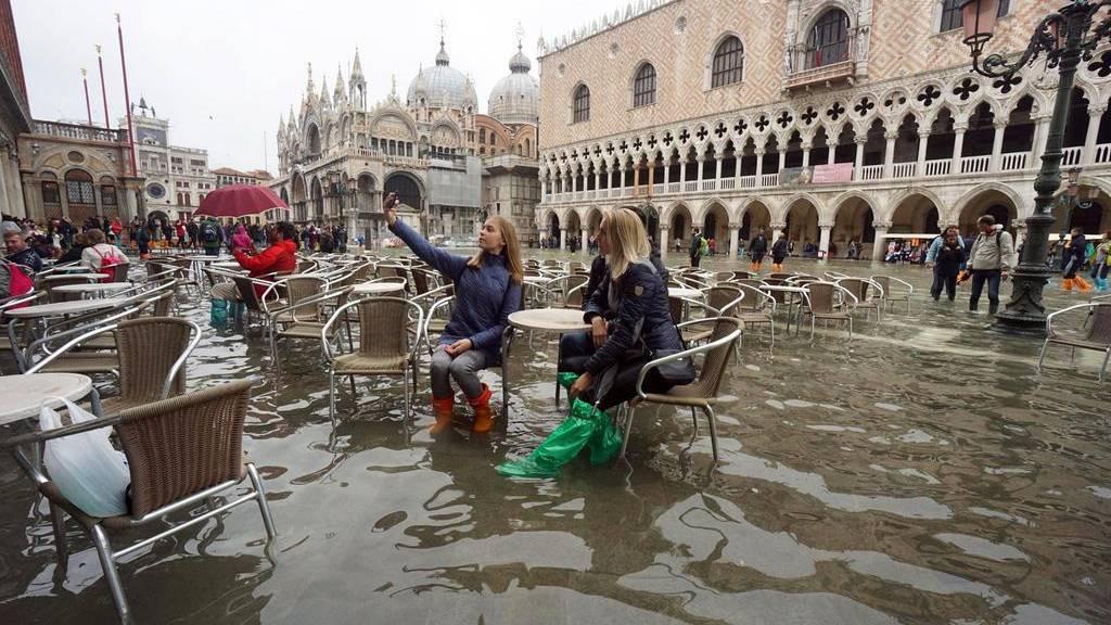 «Eine Katastrophe»: Markusdom unter Wasser