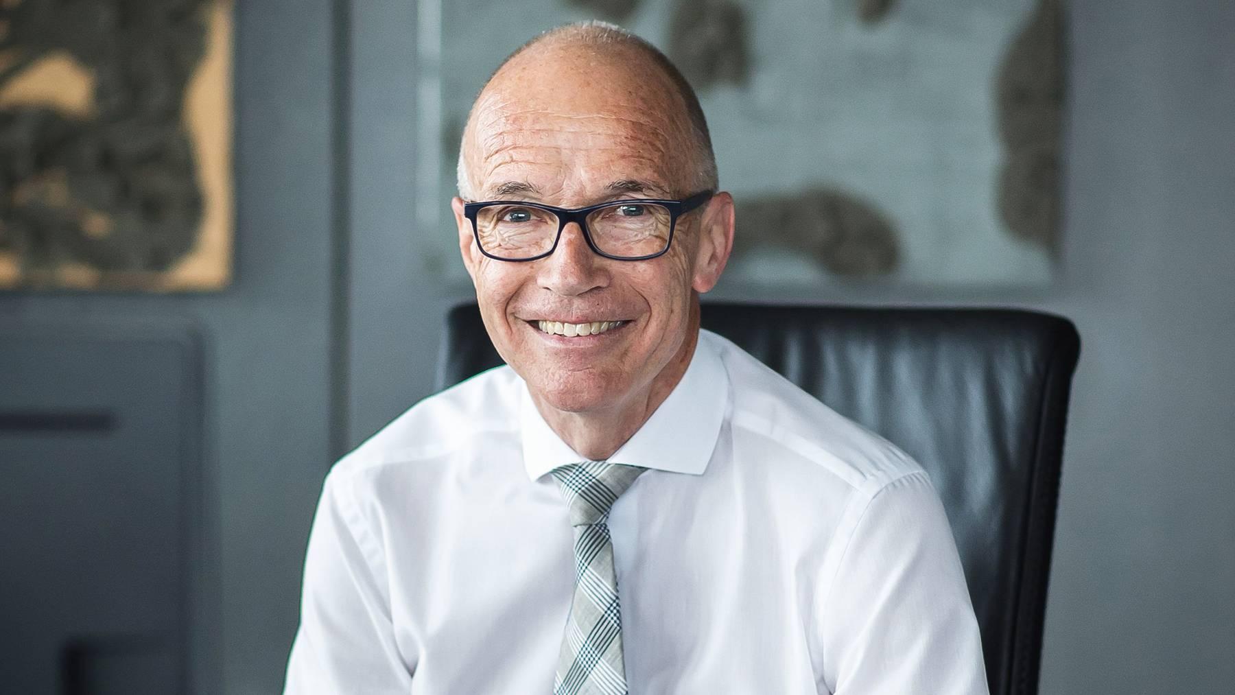 Der St.Galler Stadtpräsident Thomas Scheitlin