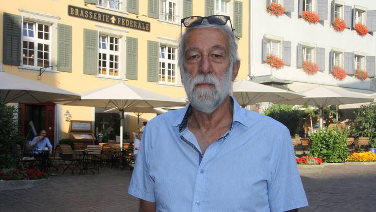 Antonio Schlup kämpfte drei Jahre lang für «seinen» Märetplatz – und blieb nicht in allen Details erfolgreich.