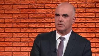 Alain Bersets wichtigsten Aussagen in der Sendung vom 30. April im Zusammenschnitt, die Sendung in voller Länge weiter unten.