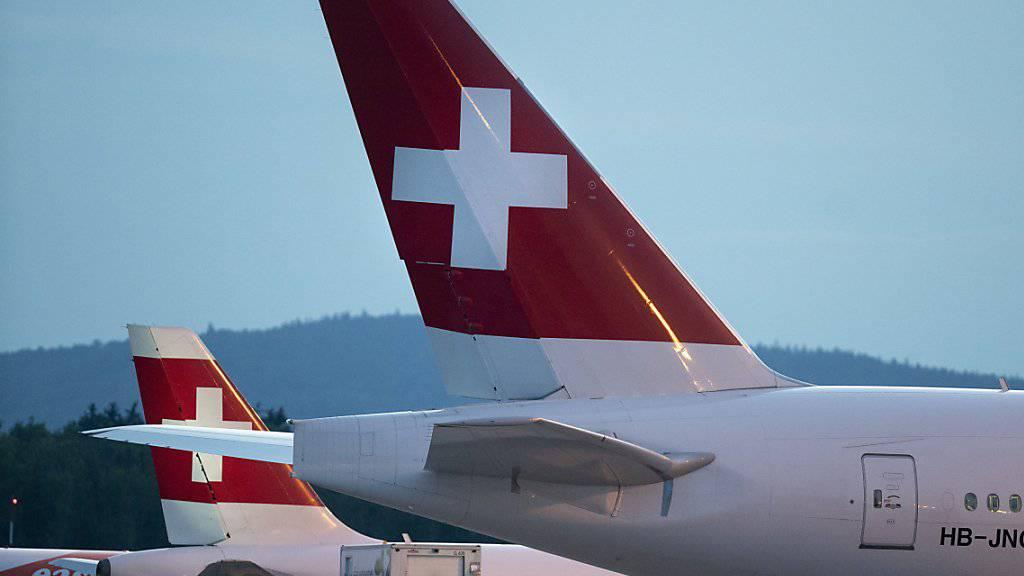 Swiss transportiert 3,2 Prozent mehr Passagiere