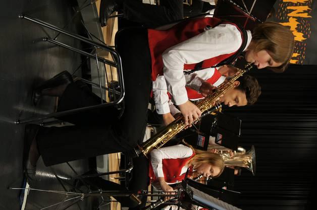 Sopransaxofon und Klarinette im Zusammenspiel.