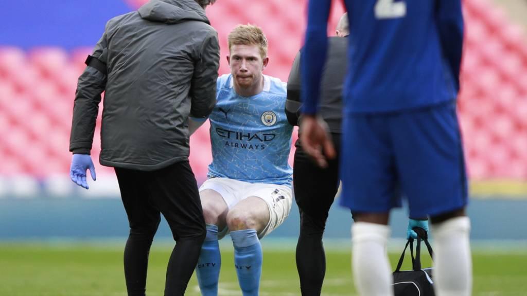 Manchester City verliert Cup-Halbfinal und De Bruyne