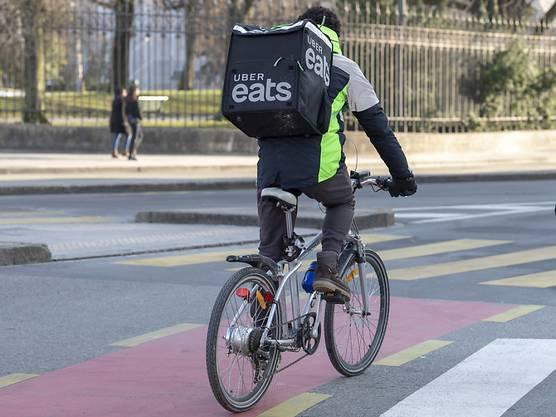 Uber Eats wird bald auch in Basel Essen ausliefern. (zvg / keystone)