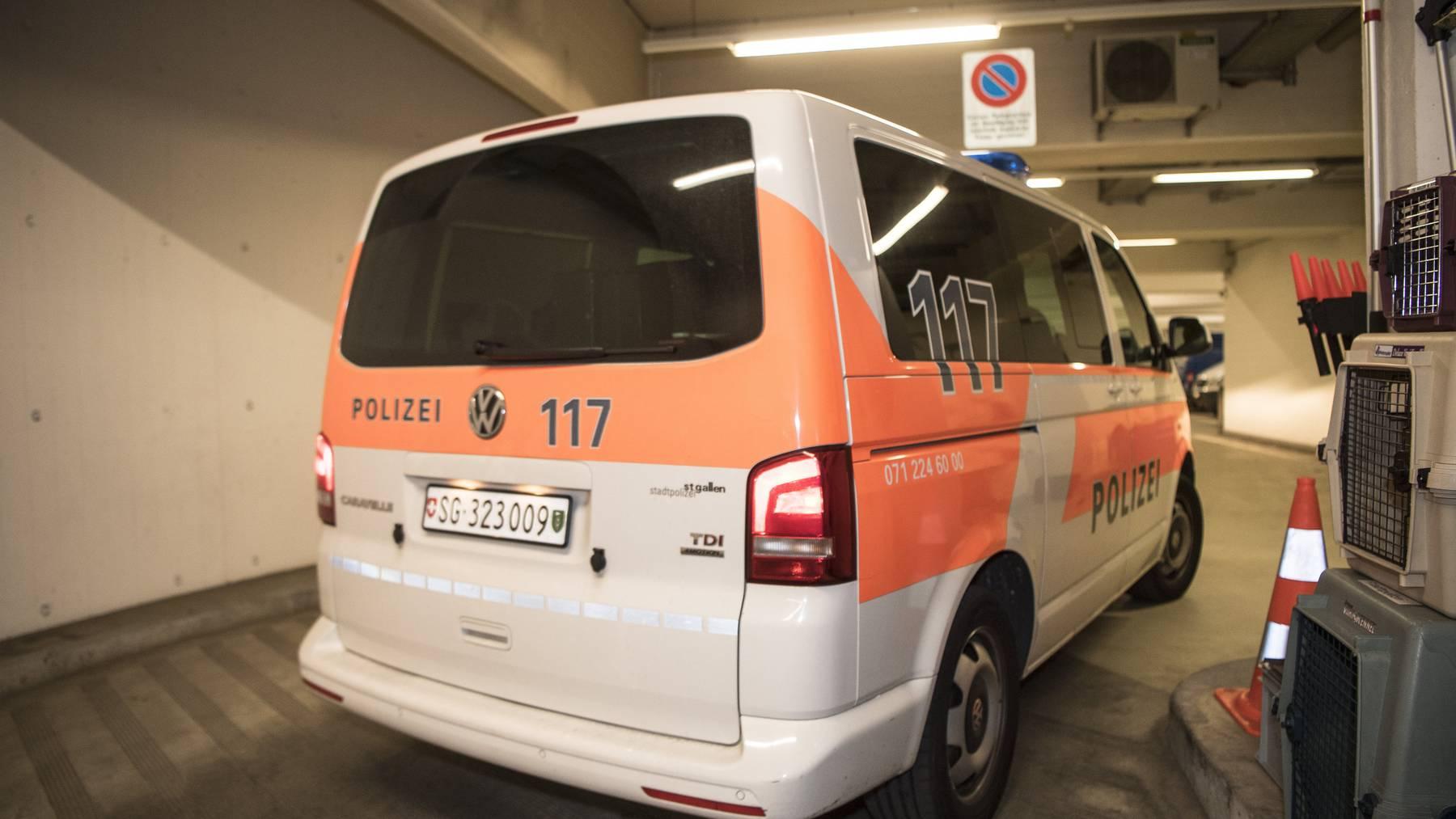 Die Stadtpolizei St.Gallen erhielt nach der Vermisstmeldung mehrere Hinweise. (Archivbild)