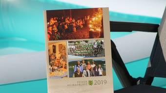 Die Zeiher Dorfchronik Heimatblatt ist soeben erschienen.