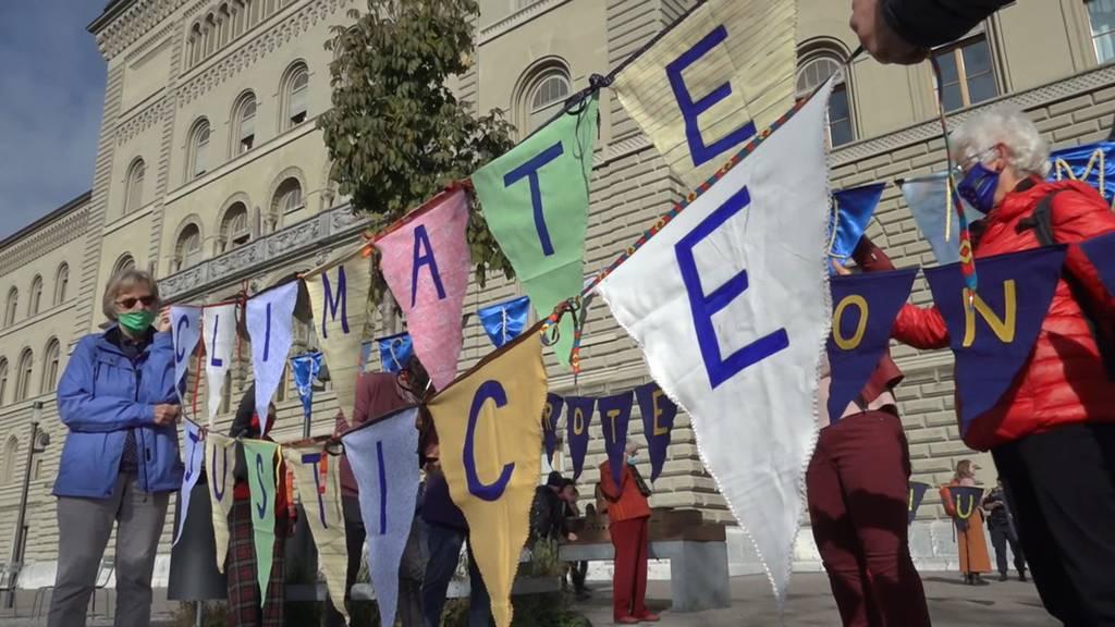 «KlimaSeniorinnen» ziehen mit Klimaklage nach Strassburg