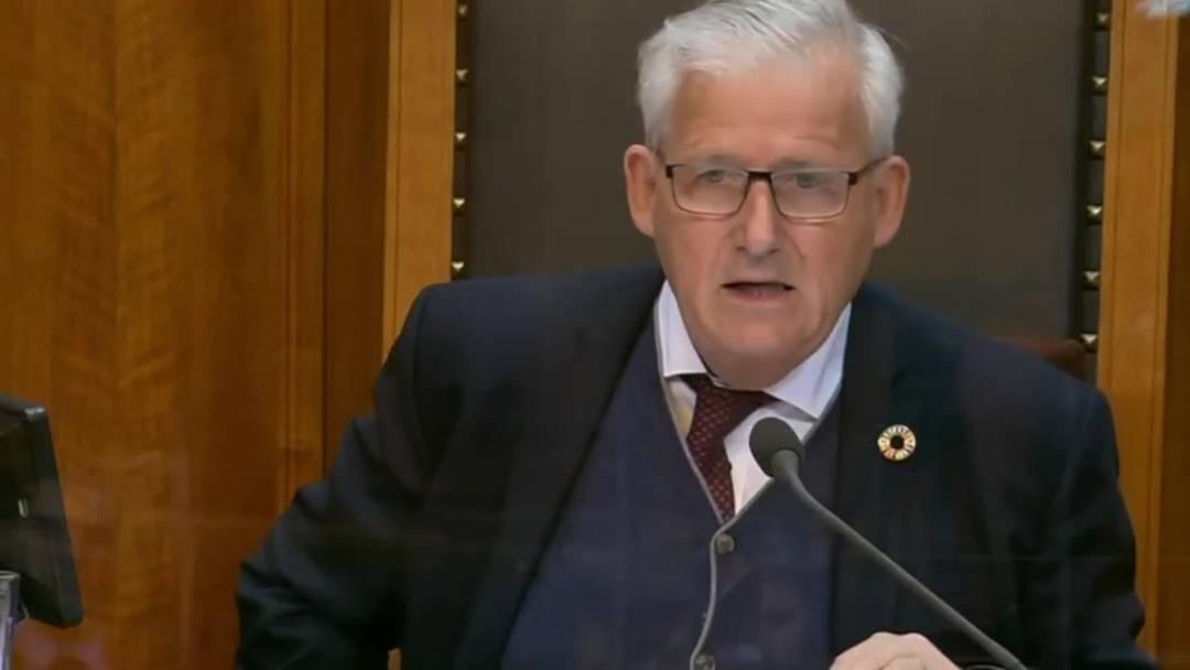 Hans Stöckli zieht Bilanz über sein Jahr als Ständeratspräsident